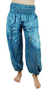 Hippy Trousers~ Bohemian Recycled Sari Trousers~Fair Trade~Folio Gothic Hippy